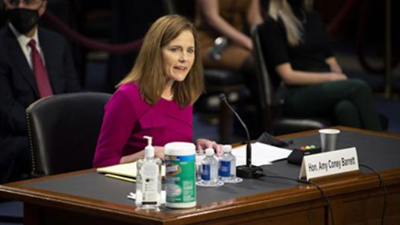 Senate On Track To Confirm Amy Coney Barrett To Supreme CourtNews On 6