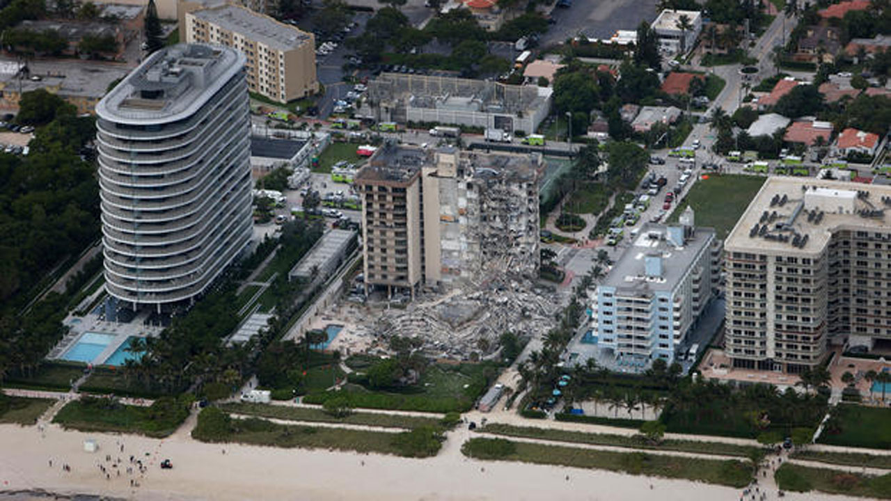 99 Unaccounted For After Deadly High-Rise Collapse In Florida